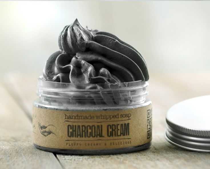 ACTIVATED CHARCOAL CREAM Whipped Soap~Vegan Soap~Natural butter Soap~Handmade Soap~Rustic soap-fluffy soap~Shaving soap~soap by ELIXIRIUM on Etsy https://www.etsy.com/listing/488052651/activated-charcoal-cream-whipped