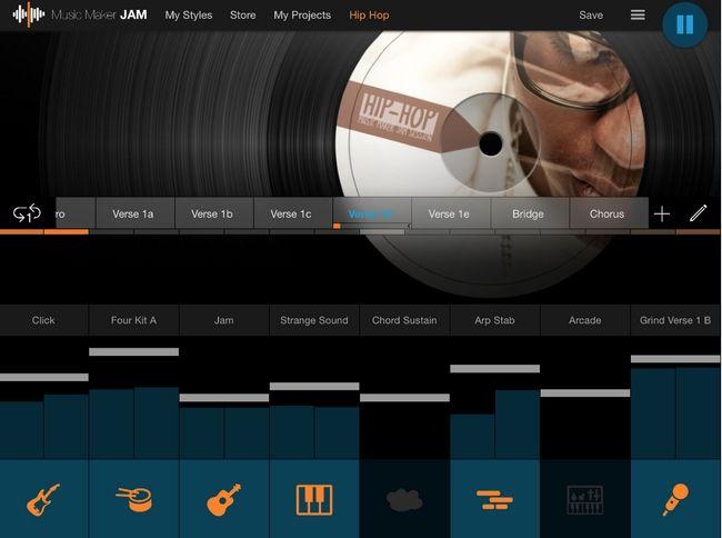 Music Maker Jam, aplicación para crear música, aún sin experiencia, ahora en iPad!