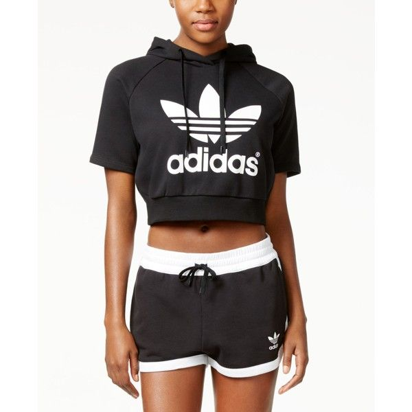 d3769f0b2a2eb Buy adidas womens cropped hoodie   OFF52% Discounted