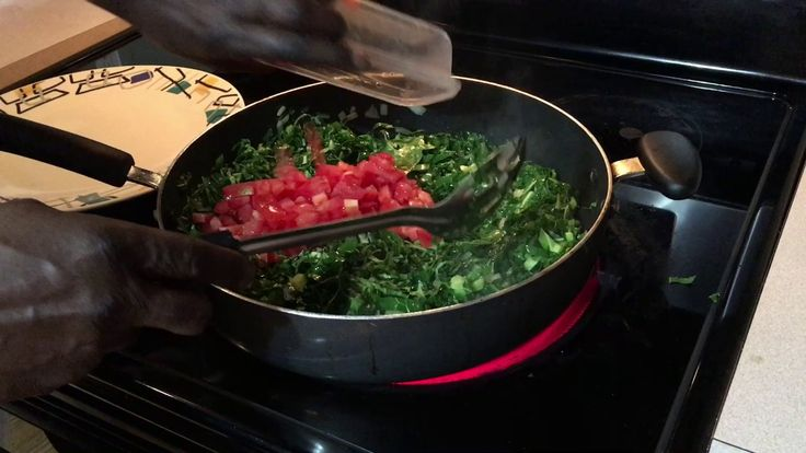 How to Cook Chef Jojo's Collard Greens (Sukuma Wiki) - YouTube