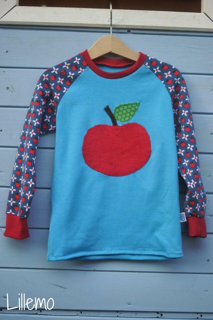 lillemo lillestoff snowwhite Äpfelchen Apfel apple apples