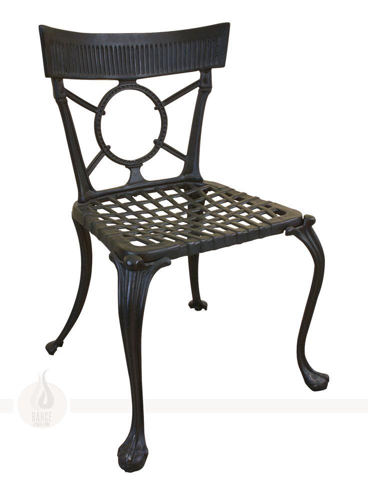 Döküm Geniş Sandalye - BA-007