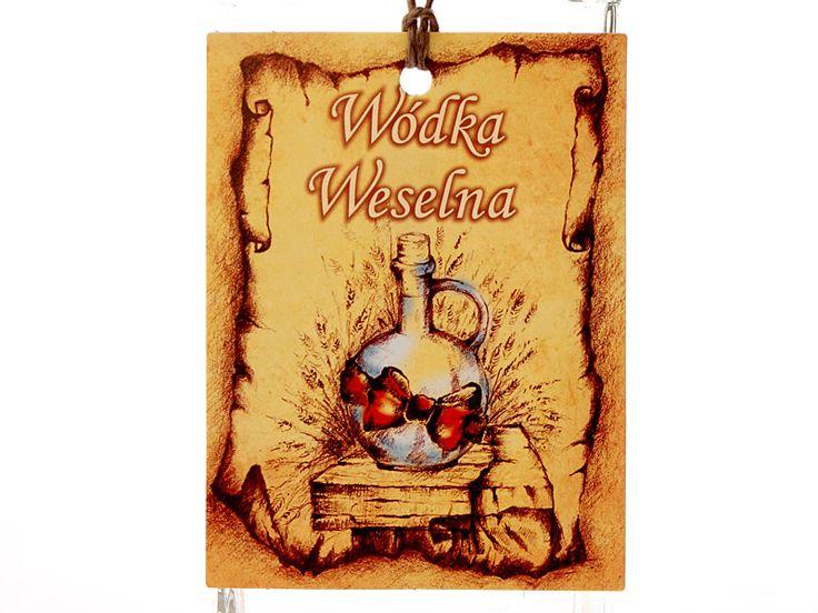 """""""Staropolska"""" zawieszka na alkohol"""