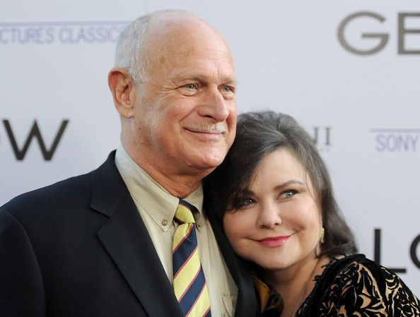 Actor Gerald McRaney and actress Delta Burke, met him on set for a movie of the week, nice guy who adores his wife.