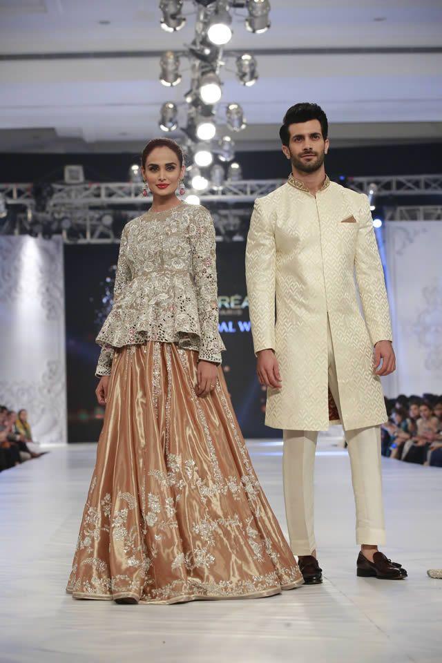 Pakistani couture Sania Maskatiya 'August Dream' Collection at PFDC L'Oréal Paris Bridal Week 2016