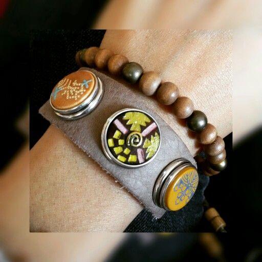 Noosa Amsterdam Armband und Noosa Chunks