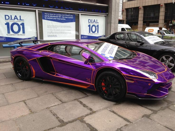 awesome fancy purple car will you try it on your wedding purplecar