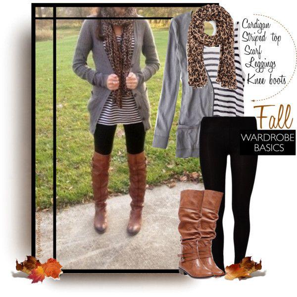 """Fall Wardrobe Basics"" by steffiestaffie on Polyvore"