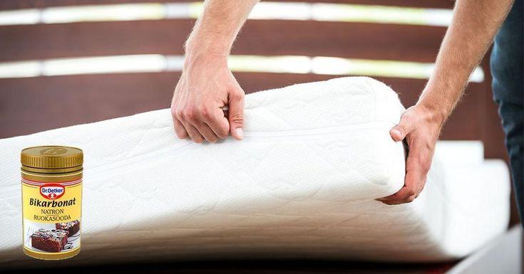 Sov extra gott inatt på en nyligen rengjord och väldoftande madrass. Så här gör du – fyra enkla steg.