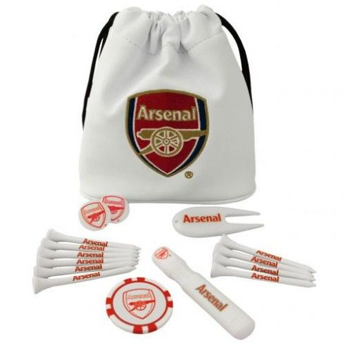 Arsenal F.C. Tote Bag Golf Gift Set