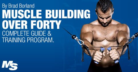 Muscle Building Over 40: Complete Guide & Training Program   Muscle & Strength for Men ...