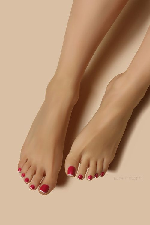 17 Best Images About Sexy Red & Black Toes On Pinterest