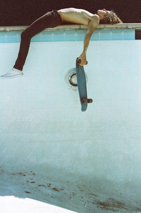 """Skateboarding doesn't make you a skateboarder.  Not being able to stop skateboarding make you a skateboarder."""