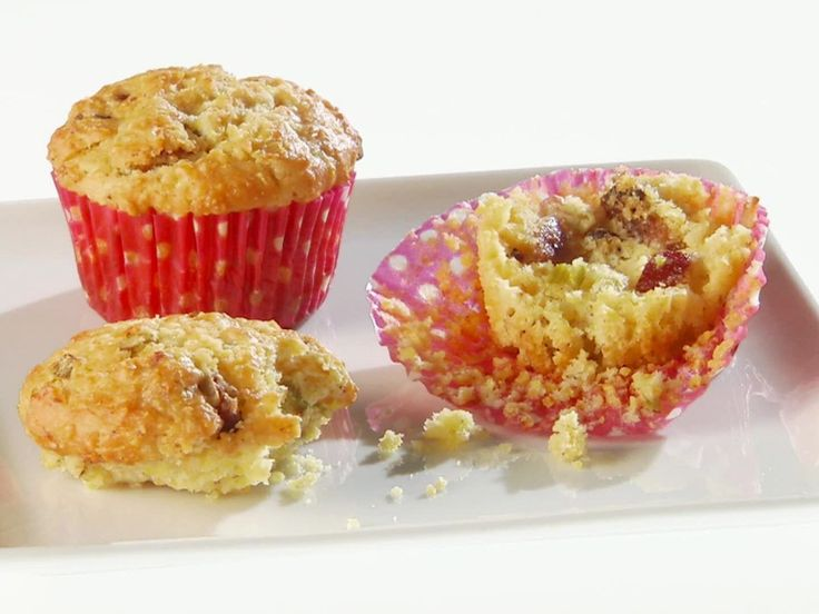 Bacon and Scallion Corn Muffins recipe from Giada De Laurentiis via Food Network