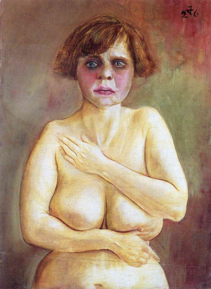 Otto Dix (1891 – 1969) was a German painter and printmaker, noted for his ruthless and harshly realistic depictions of Weimar society and the brutality of war.