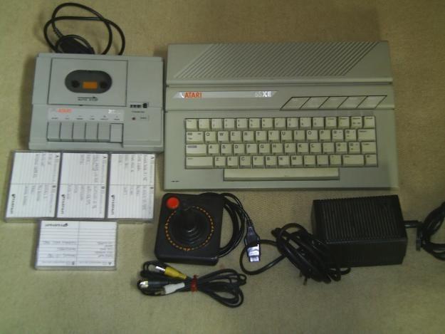Komputer Atari.