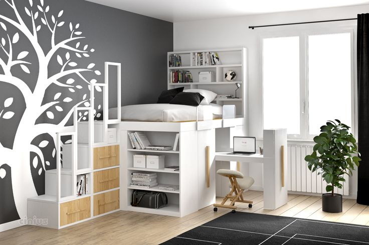 die besten 25 funktionsbett ideen auf pinterest coole betten malm bettrahmen und. Black Bedroom Furniture Sets. Home Design Ideas