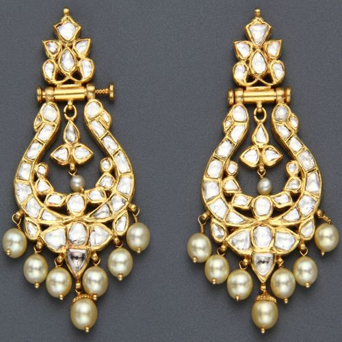 Kundan chandelier earrings | Wedding Style Inspiration by Marigold Paper