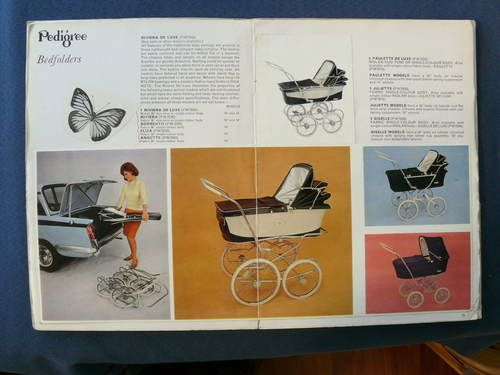 Vintage 1960s PEDIGREE PRAM CATALOGUE Complete + Price List. Lines Bros. | eBay