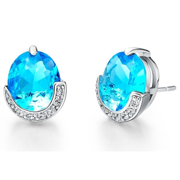 Find More Stud Earrings Information about Sapphire Double Stud Earrings Purple Zirconia Sterling Silver Jewelry Blue Round Crystal Earring Bijoux Women Earing Ulove R200,High Quality r200 ink,China earrings children Suppliers, Cheap earings display from ULOVE Fashion Jewelry on Aliexpress.com