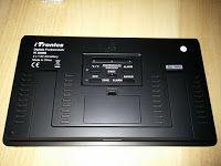 Produkttests und mehr: iTronics Digitale Funkwanduhr mit Temperaturanzeig...