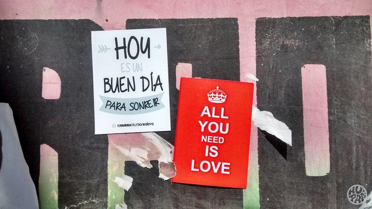Imanes alegres llenos de amor! Venta por menor y mayor. f/hurratallercreativo // holahurra@gmail.com