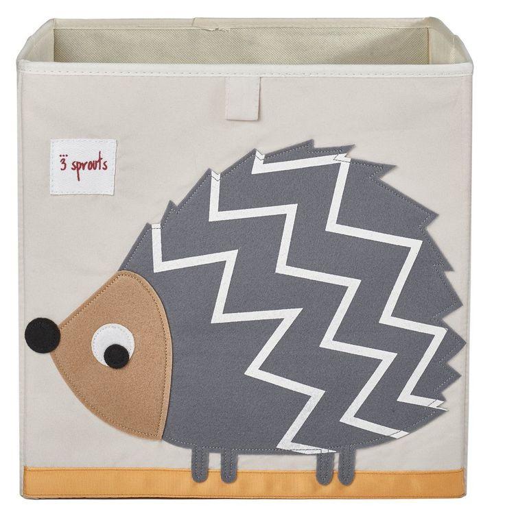 Amazon.com : 3 Sprouts Storage Box, Rabbit : Nursery Storage Baskets : Baby