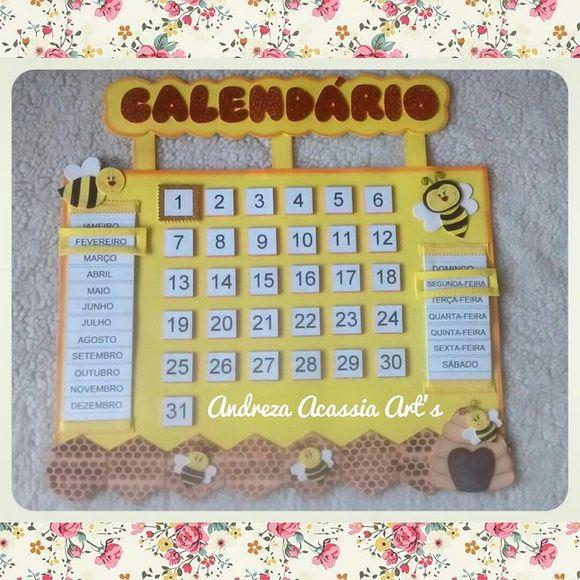 Cartaz Calendário