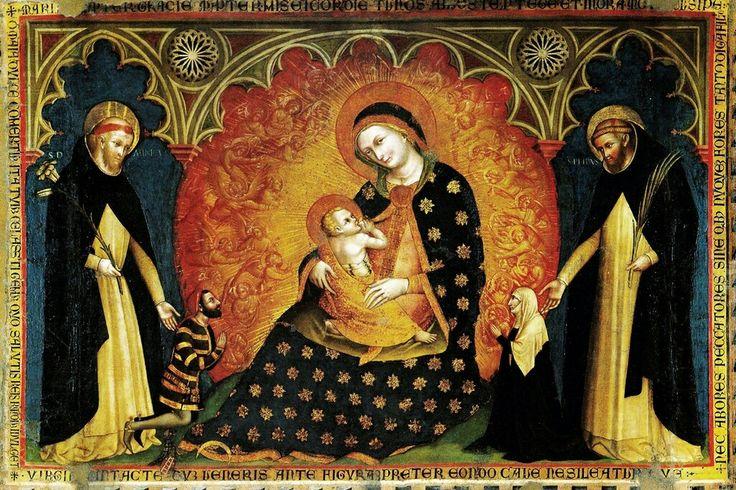 Madonna del Rosario. Chiesa di Santa Anastasia.  Verona