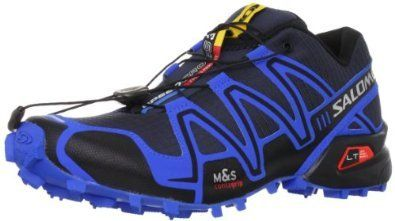 Salomon Men's Speedcross 3 Trail Running Shoe  The Salomon Men's Speedcross 3 trail running shoe is race ready, ultra-light and built for speed. Water resistant nylon upper material with textile overlay construction is light, flexible, quick drying and highly breathable.