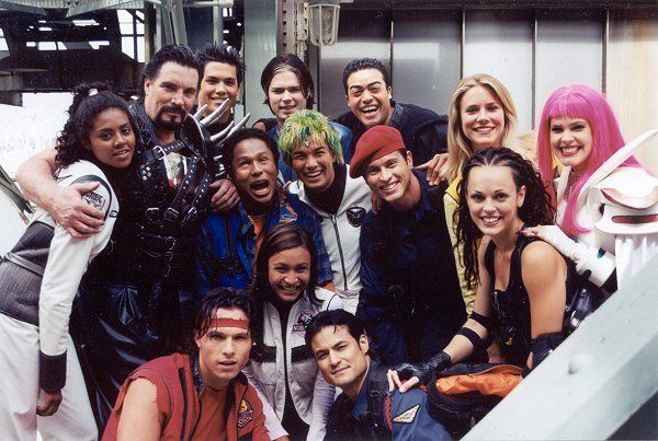I think this was the Time Force-Wild Force Crossover . . .