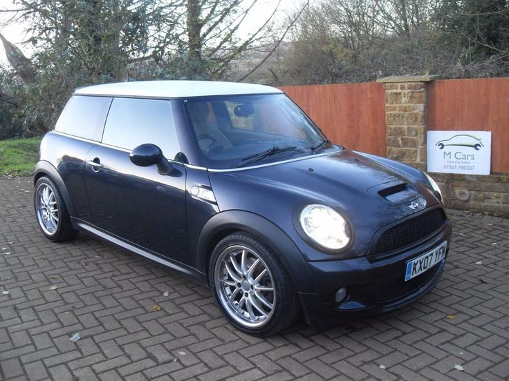 eBay: Mini Cooper S 1.6 Chilli Pack Black 88K PX/FINANCE #minicooper #mini
