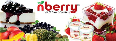 N Berry Whole Bluberry,Kiwi Slices, Mango pulp,Whole Strawberry,Pineapple and Fruit of Forest are a portion of the lusious organic products we use to make top notch fillings for delightful pies,Pastries,Chocolate manufacturers,cold cheescakes,baked cheesecakes,