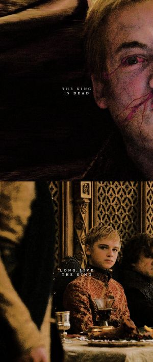 Joffrey & Tommen Baratheon ~ Game of Thrones Fan Art