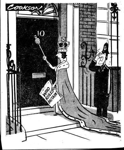 Bernard Cook  Evening News, 15 Jan 1974