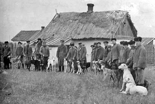 Sighthound local show at the cossack village Egorlikskaya of the same region - Constantin Esmont - 1917
