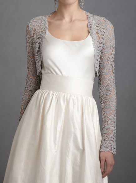 everlytrue: [Lady Grey Shrug by BHLDN] | The World in Pictures from the LifestyleFiles