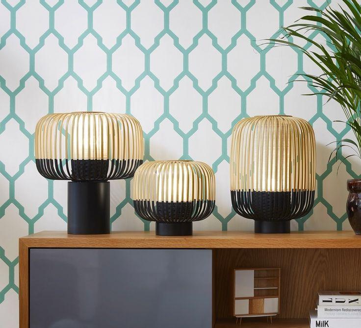 La lampe Bamboo Light signée par Arik Levy pour la maison française Forestier #Bamboo #light  #arik #levy #forestier  #luminaire #lighting #design #signed #bambou #lamp #tablelamp #bamboolight #chambre #salon #livingroom #bedroom