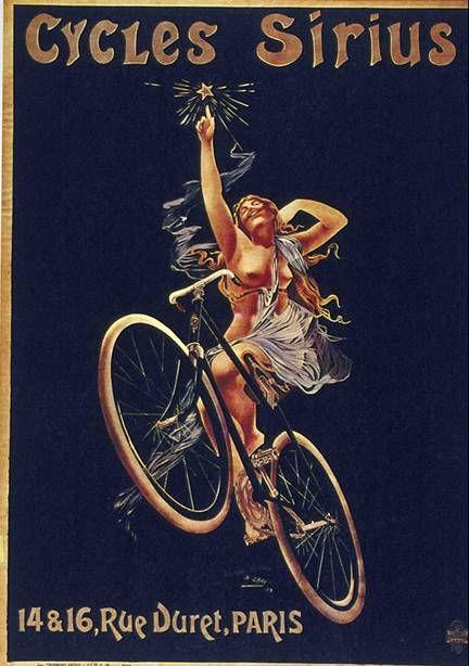 Bicycle vintage advert