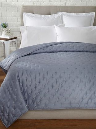 68% OFF Vera Wang Luster Quilt (Arno Blue)