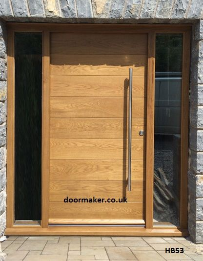 CONTEMPORARY DOORS FRAMED HORIZONTAL BOARDED (FHB) Horizontal boards are fitted between two vertical stiles. Click here or on the door for further ...