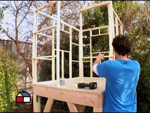 17 best ideas about como construir una casa on pinterest - Como hacer casa de madera ...