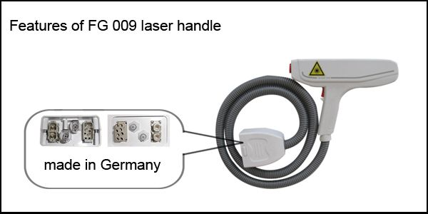 ND-Yag laser for tattoo removal and skin rejuvenation beauty machine