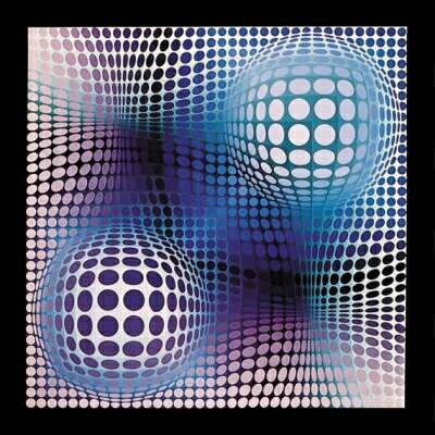Victor Vasarely's Feny (1969)