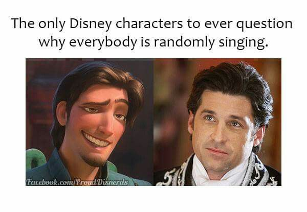 Yup. I loved both those movies! They were good. Enchanted and Tangled