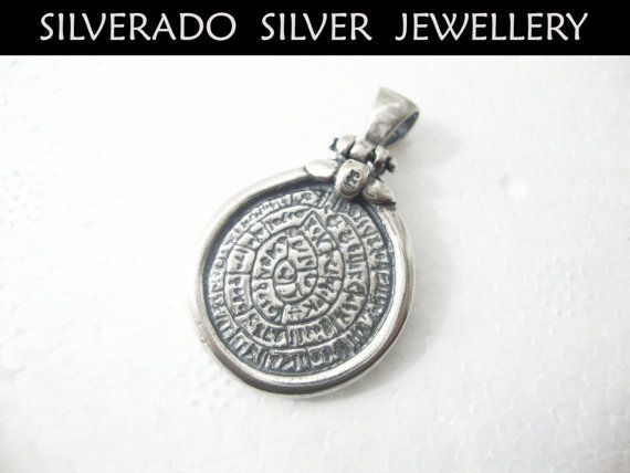 Sterling Silver 925 Ancient Greek Key Minoan by SilveradoJewellery, €43.00