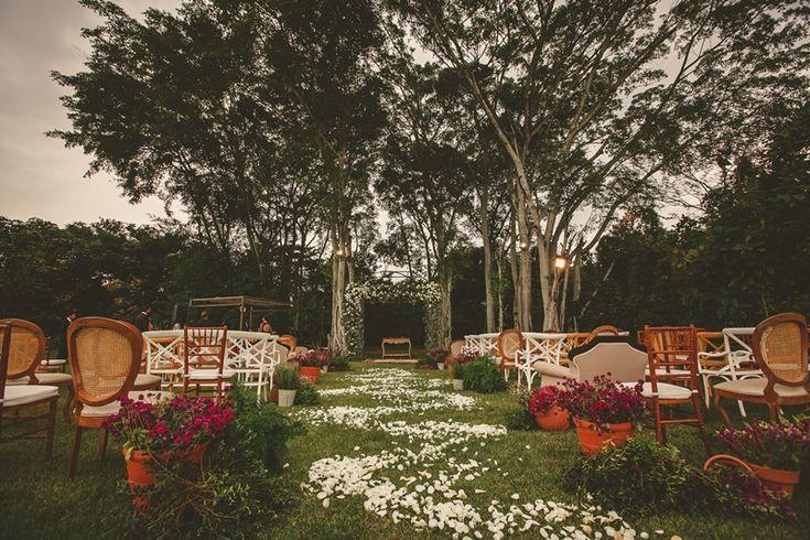 Casamento Ao Ar livre: Paula & Flavio - IC