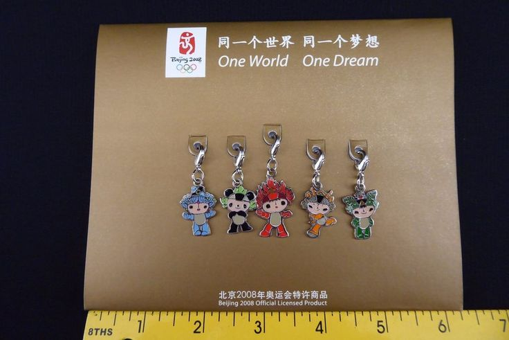 Official Licensed Product Beijing 2008 Olympics MASCOT charms cell mobile PANDA   | eBay