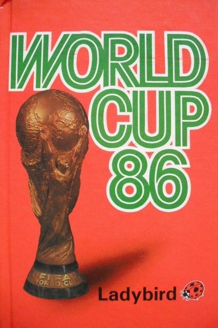 LADYBIRD BOOK WORLD CUP 82.