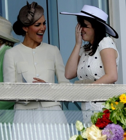 Duchess Catherine and Princess Eugenie of York: